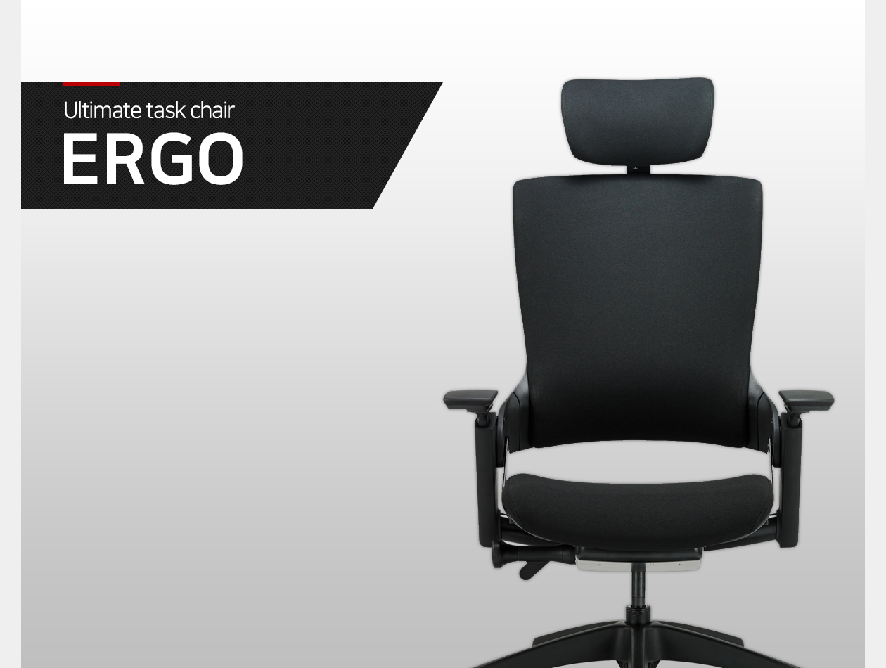 Ultimate task chair ERGO
