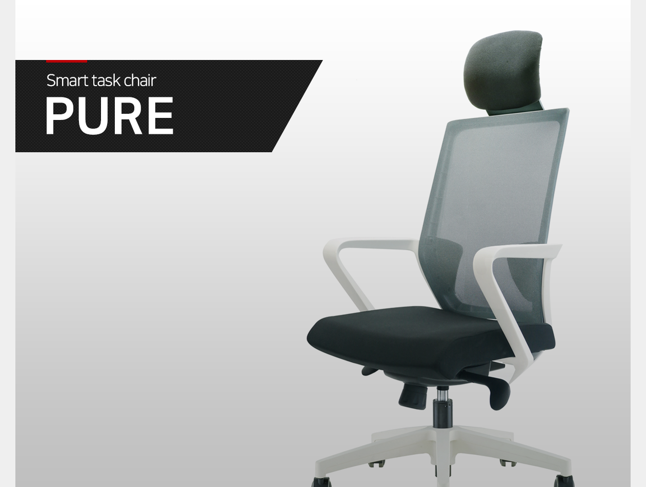Smart task chair PURE